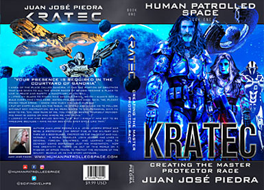 Human Patrolled Space Four Book Series - Kratec - Book One - English