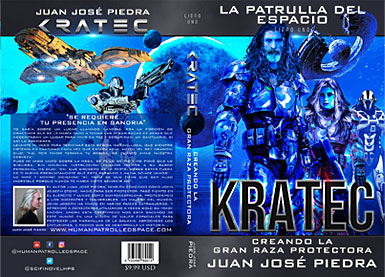 Human Patrolled Space Four Book Series - Kratec - Book One - Spanish